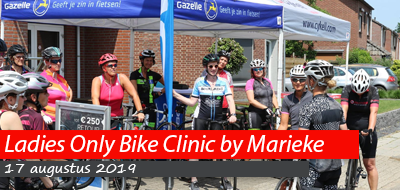 Ladies Only Bike Clinic - 17 augustus 2019